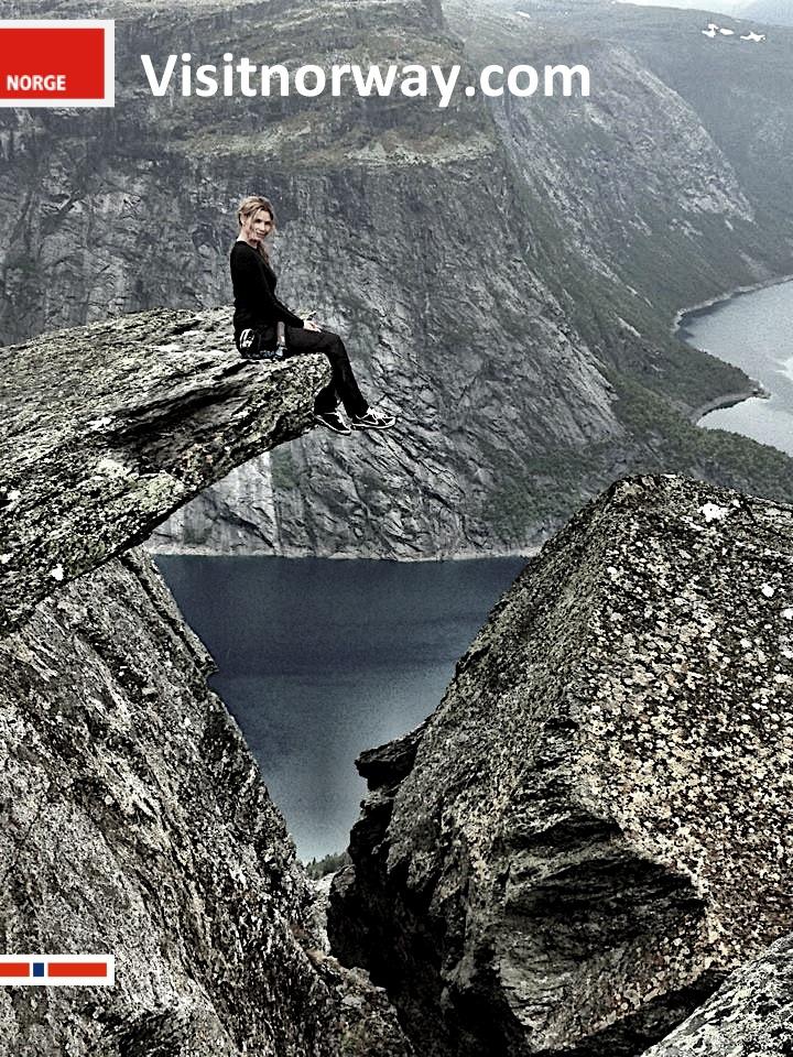 Trude Helen Hole Trolletunga Visit Norway