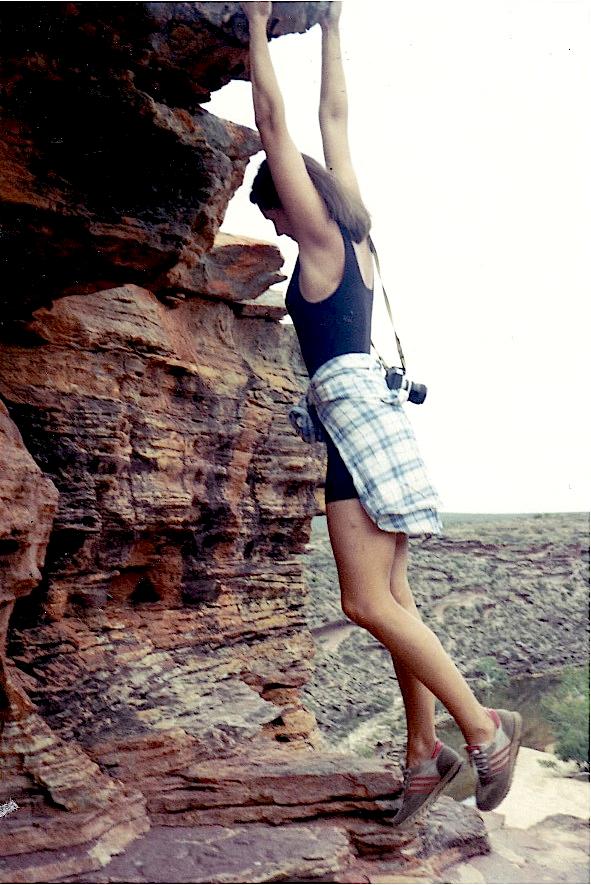 Australia klippe Trude H. Hole