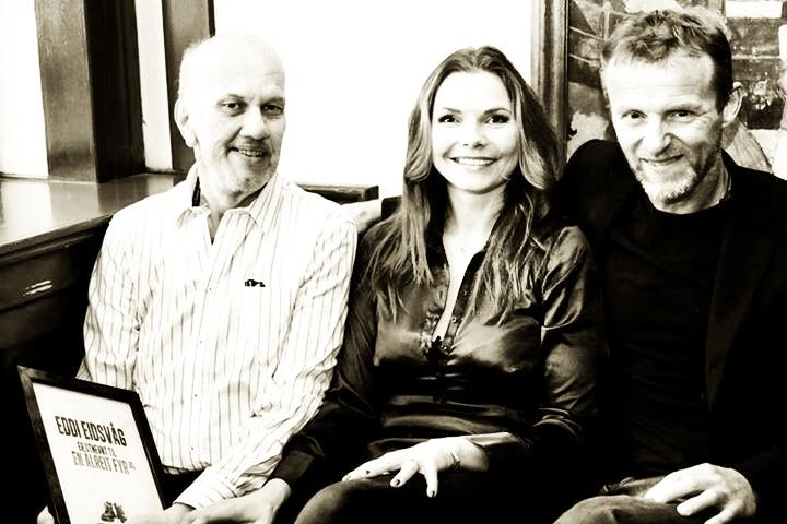 Eddie, Trude og Jo