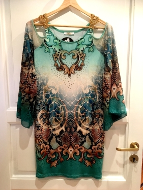 gronn-kjole