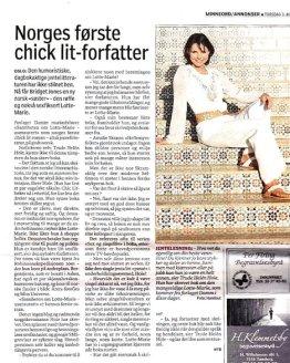 Presse Norges første chic lit forfatter