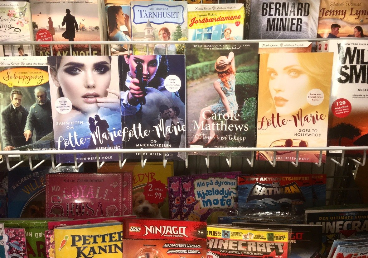 Bøker i butikk 1