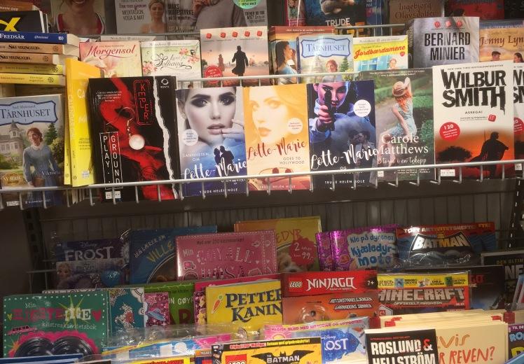 Bøker i butikk