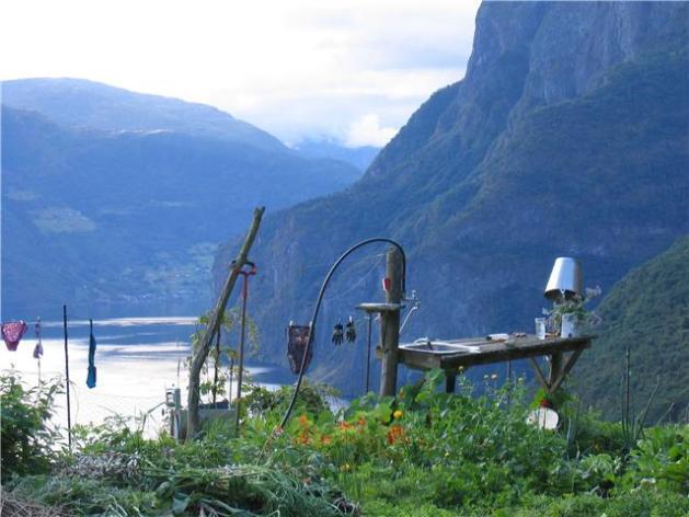 Vaskebordet på Stegen, med utsikt
