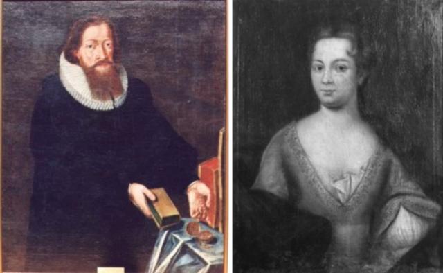 Anne Pedersdotter og Absalon Pederssøn Beyer er mine forfedre ...